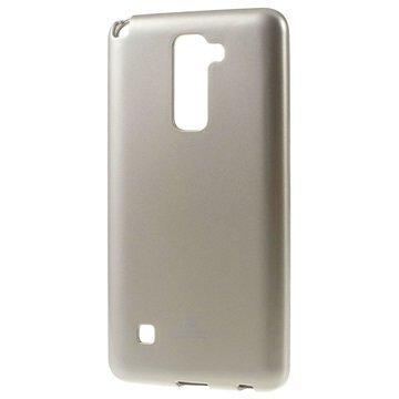 LG Stylus 2 Mercury Goospery TPU Kotelo Kulta