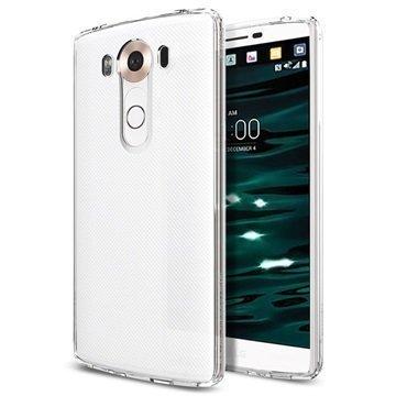LG V10 Spigen Ultra Hybridikotelo Kristallinkirkas