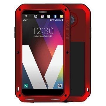 LG V20 Love Mei Powerful Case Red