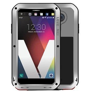 LG V20 Love Mei Powerful Case Silver