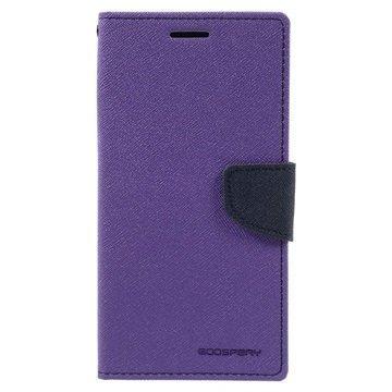 LG V20 Mercury Goospery Fancy Diary Wallet Case Purple
