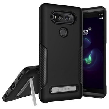 LG V20 VRS Design Carbon Fit Case Black