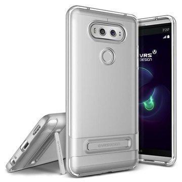 "LG V20 VRS Design Crystal Bumper suojakuori â"" Hopea"
