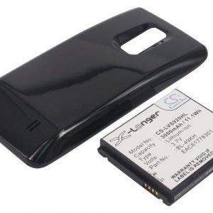 LG VS920 Spectrum Spectrum VS920 Spectrum VS920 4G LTE Tehoakku Laajennetulla takakannella 3000 mAh
