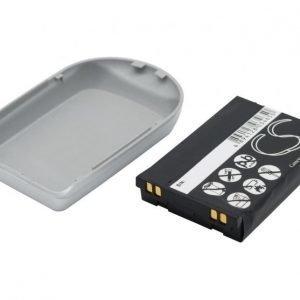 LG VX3200 Tehoakku Laajennetulla hopeisella takakannella 1700 mAh