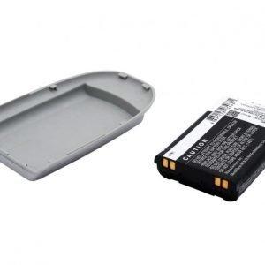 LG VX6100 Tehoakku Laajennetulla hopeisella takakannella 1700 mAh