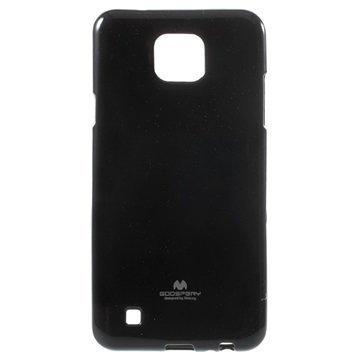 LG X Cam Mercury Goospery TPU Kotelo Musta