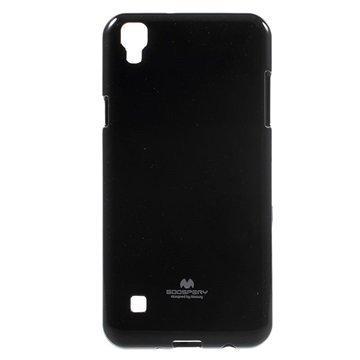 LG X Style Mercury Goospery TPU Case Black