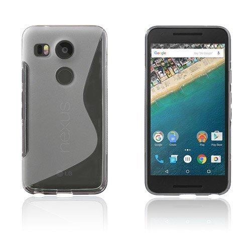 Lagerlöf Google Nexus 5x Kuori Läpinäkyvä