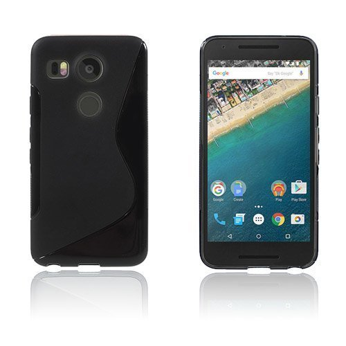 Lagerlöf Google Nexus 5x Kuori Musta