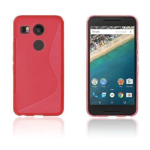 Lagerlöf Google Nexus 5x Kuori Punainen