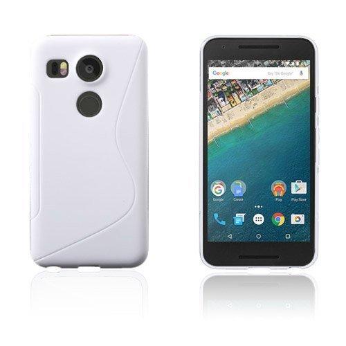 Lagerlöf Google Nexus 5x Kuori Valkoinen
