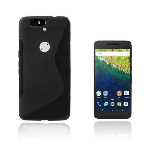 Lagerlöf Google Nexus 6p Kuori Musta