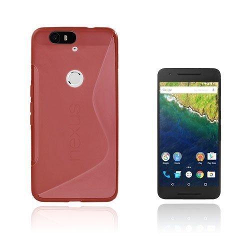 Lagerlöf Google Nexus 6p Kuori Punainen