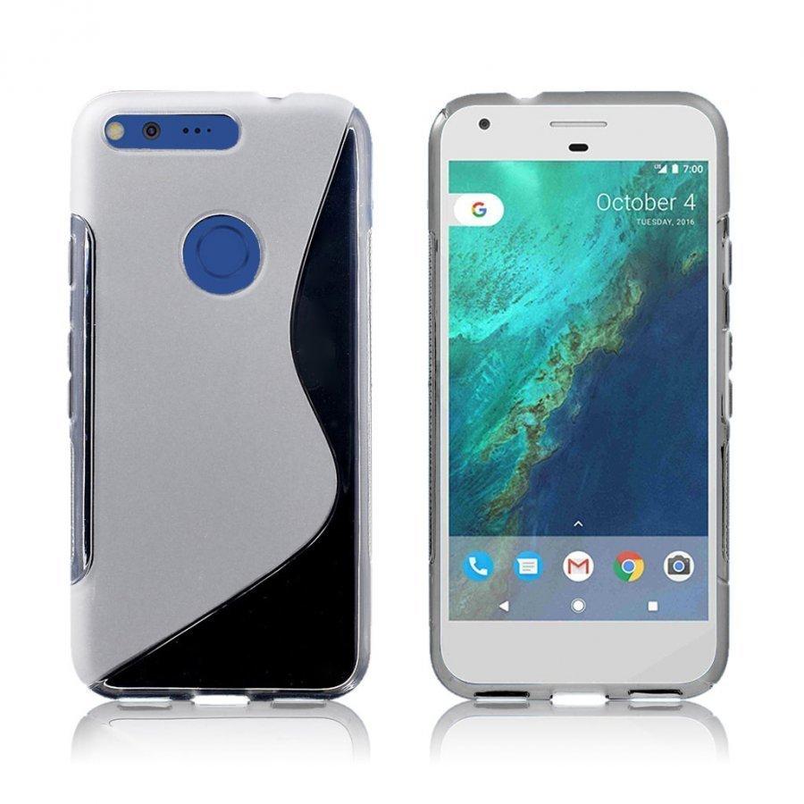 Lagerlöf Google Pixel Joustava Muovikuori Läpinäkyvä