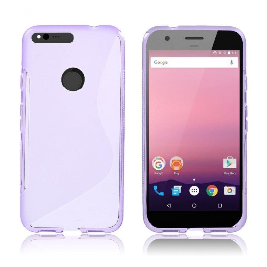 Lagerlöf Google Pixel Xl Joustava Muovikuori Violetti