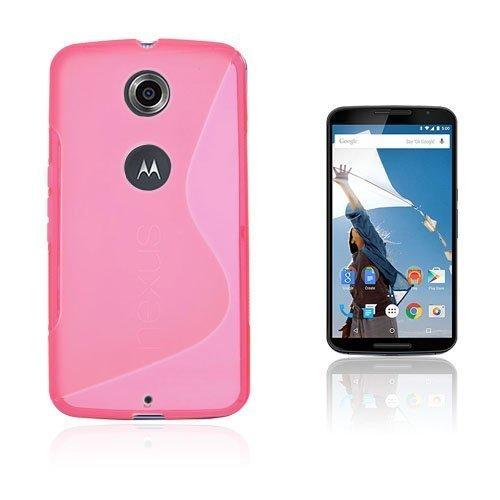 Lagerlöf Kuuma Pinkki Motorola Nexus 6 Suojakuori