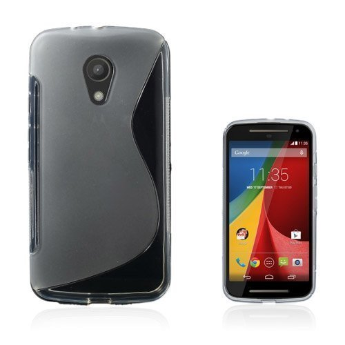 Lagerlöf Läpikuultava Motorola Moto G2 Suojakuori
