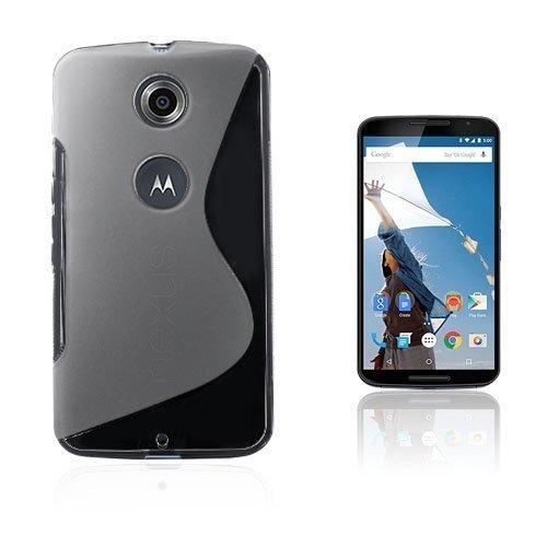 Lagerlöf Läpinäkyvä Motorola Nexus 6 Suojakuori