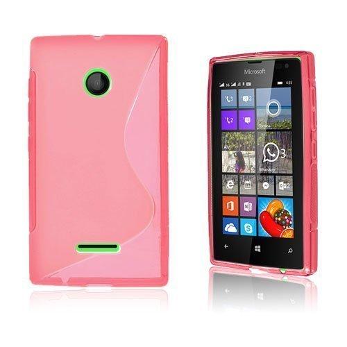 Lagerlöf Microsoft Lumia 435 Suojakuori Kuuma Pinkki