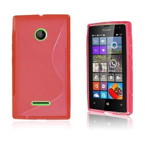 Lagerlöf Microsoft Lumia 435 Suojakuori Punainen