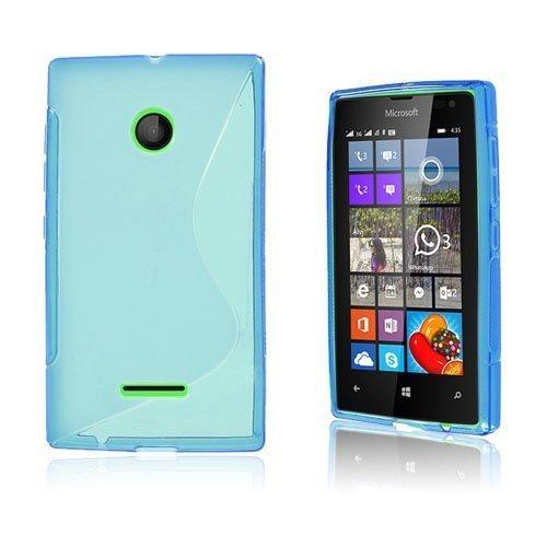 Lagerlöf Microsoft Lumia 435 Suojakuori Sininen