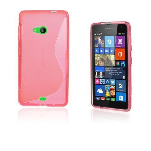 Lagerlöf Microsoft Lumia 535 Suojakuori Kuuma Pinkki