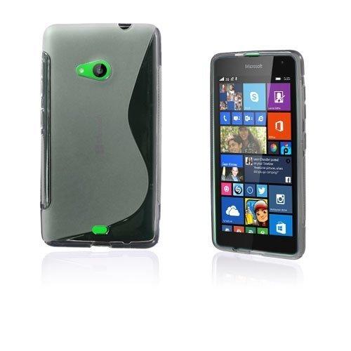 Lagerlöf Microsoft Lumia 535 Suojakuori Läpinäkyvä