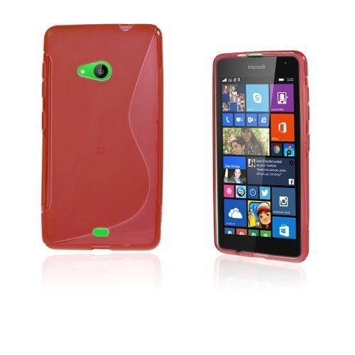 Lagerlöf Microsoft Lumia 535 Suojakuori Punainen