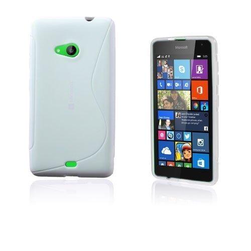 Lagerlöf Microsoft Lumia 535 Suojakuori Valkoinen