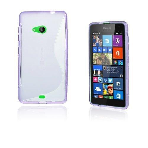 Lagerlöf Microsoft Lumia 535 Suojakuori Violetti