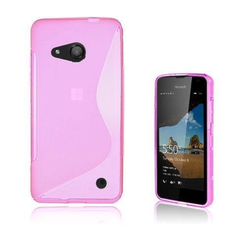 Lagerlöf Microsoft Lumia 550 Kuori Kuuma Pinkki