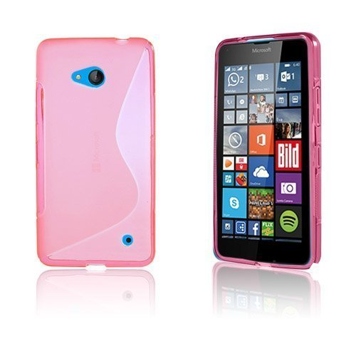 Lagerlöf Microsoft Lumia 640 Suojakuori Kuuma Pinkki