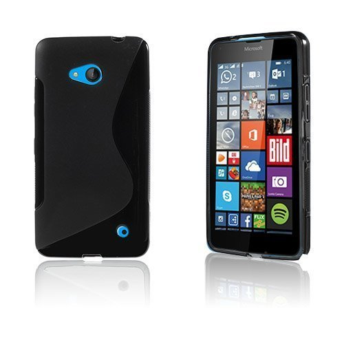 Lagerlöf Microsoft Lumia 640 Suojakuori Musta