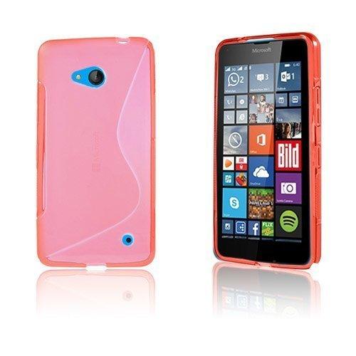 Lagerlöf Microsoft Lumia 640 Suojakuori Punainen