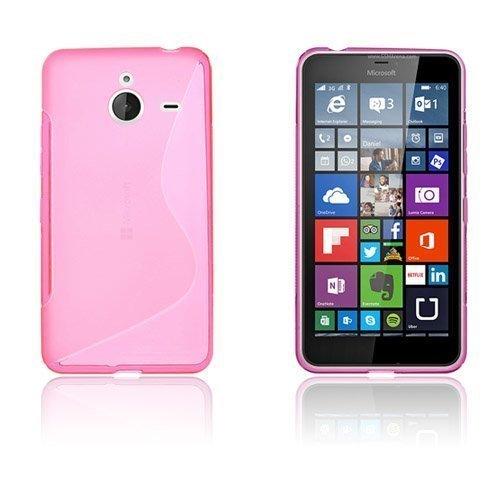 Lagerlöf Microsoft Lumia 640 Xl Suojakuori Kuuma Pinkki