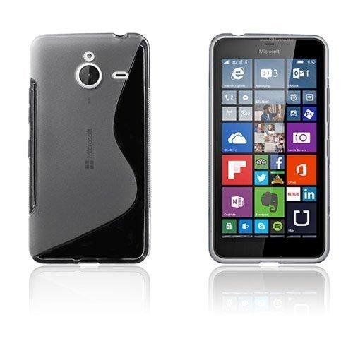 Lagerlöf Microsoft Lumia 640 Xl Suojakuori Läpinäkyvä