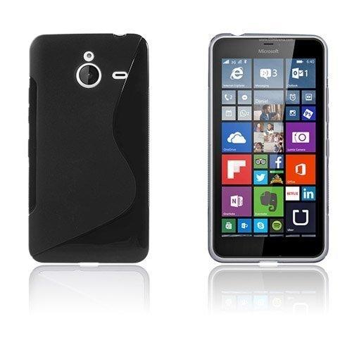 Lagerlöf Microsoft Lumia 640 Xl Suojakuori Musta