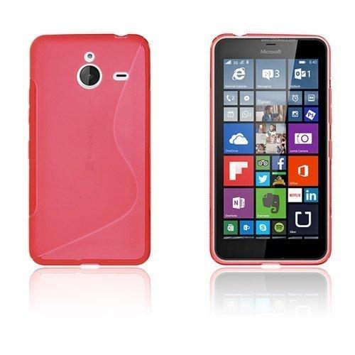 Lagerlöf Microsoft Lumia 640 Xl Suojakuori Punainen