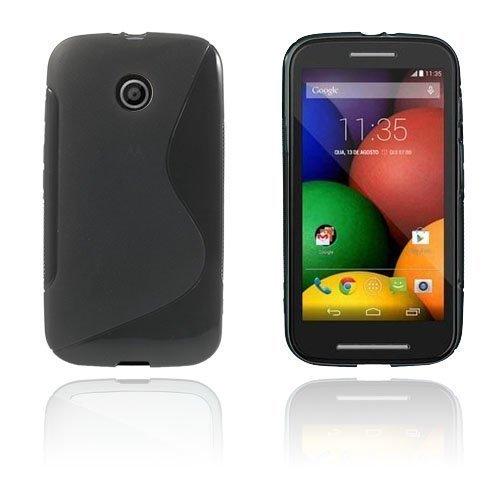 Lagerlöf Motorola Moto E Suojakuori Musta