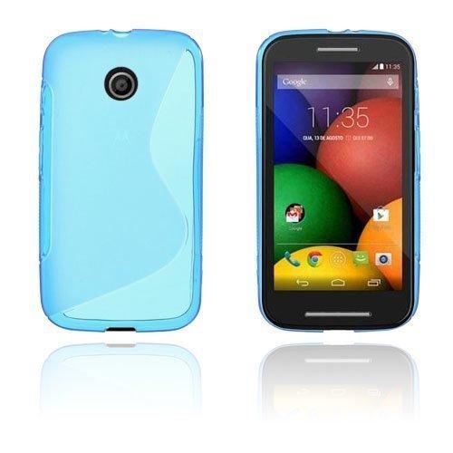 Lagerlöf Motorola Moto E Suojakuori Sininen