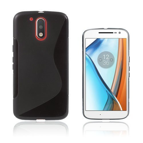 Lagerlöf Motorola Moto G4 / G4 Plus Takakuori Musta