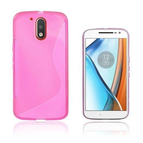 Lagerlöf Motorola Moto G4 / G4 Plus Takakuori Pinkki