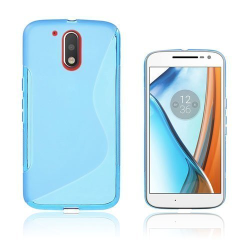Lagerlöf Motorola Moto G4 / G4 Plus Takakuori Sininen