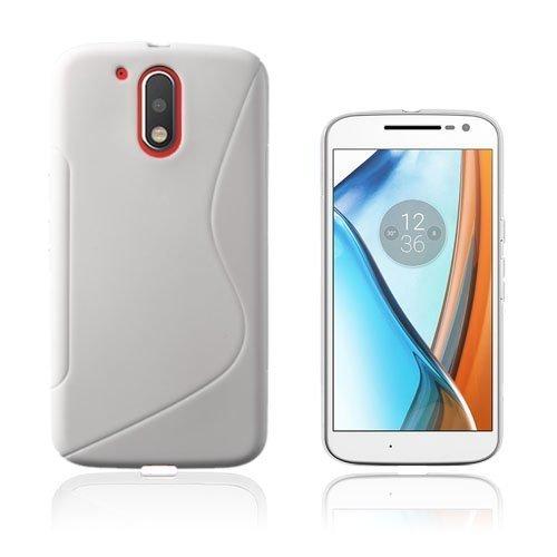 Lagerlöf Motorola Moto G4 / G4 Plus Takakuori Valkoinen