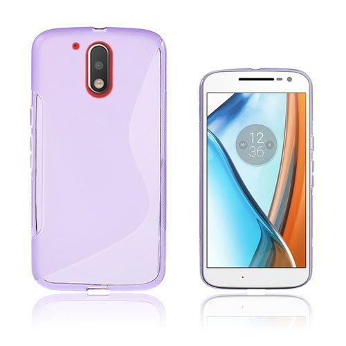 Lagerlöf Motorola Moto G4 / G4 Plus Takakuori Violetti