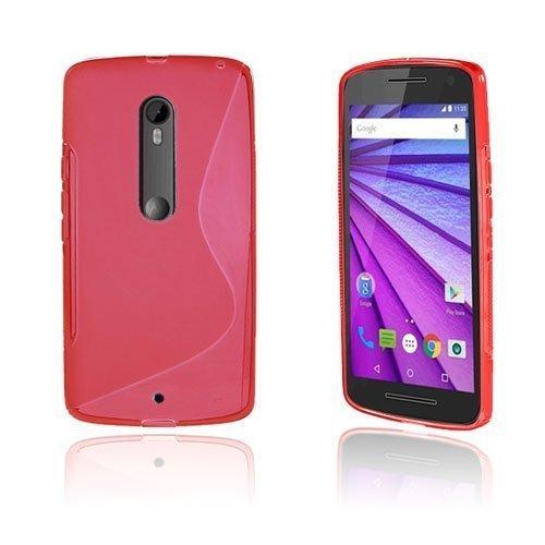 Lagerlöf Motorola Moto X Play Kuori Punainen