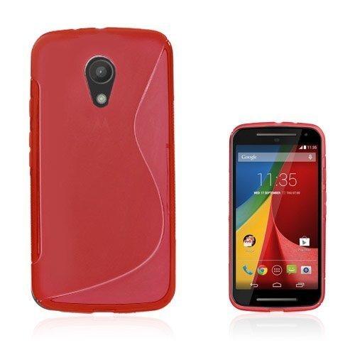 Lagerlöf Punainen Motorola Moto G2 Suojakuori