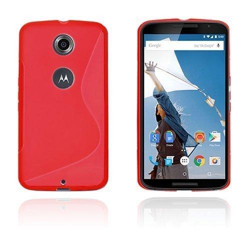 Lagerlöf Punainen Motorola Nexus 6 Suojakuori