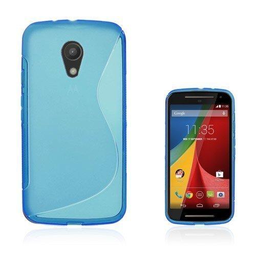 Lagerlöf Sininen Motorola Moto G2 Suojakuori